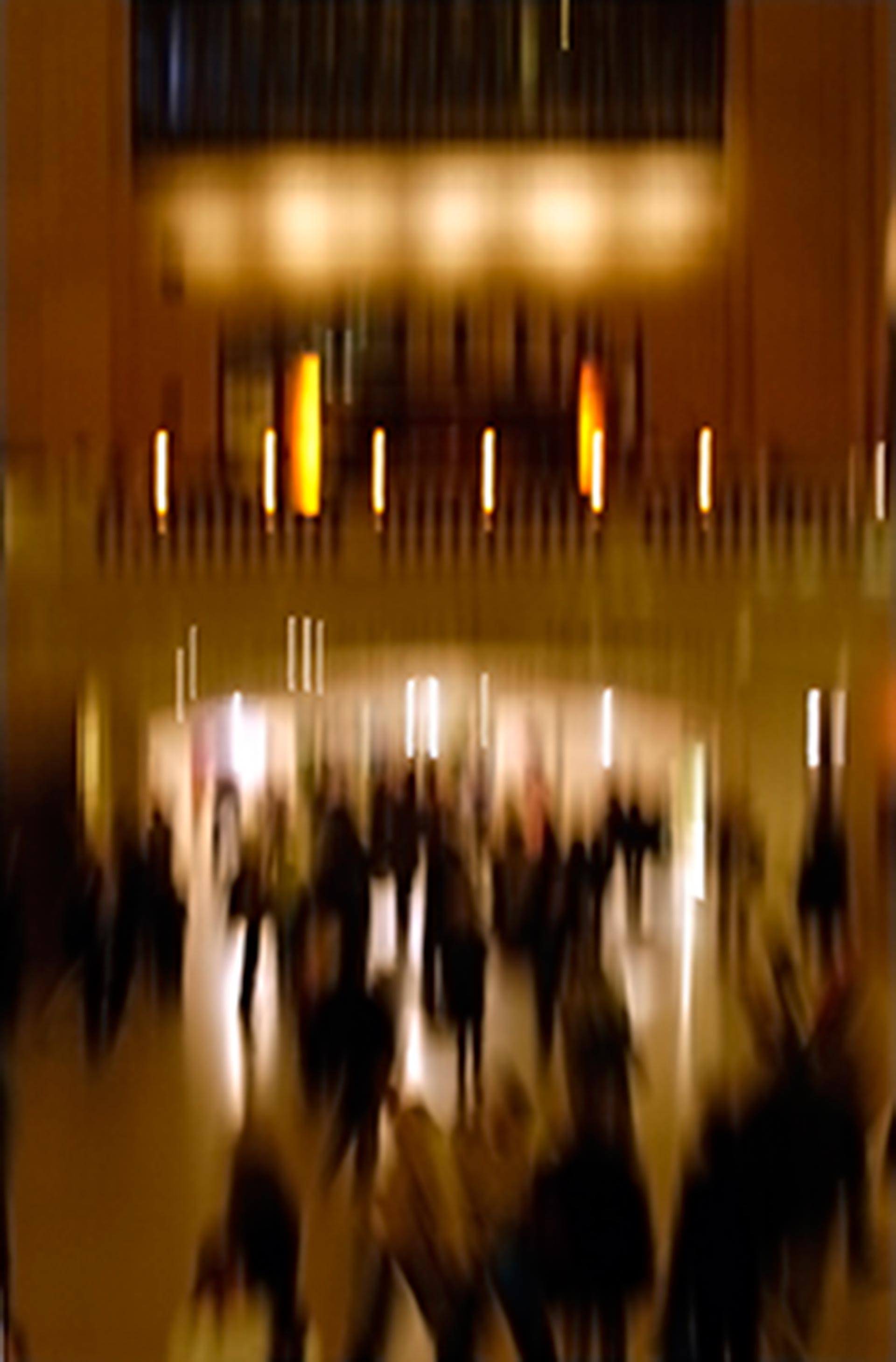 STEFANO ZARDINI New York City Morning crowd at the Grand Central cm. 62 x 92 image, Dibond mount, framed Edition 1/11