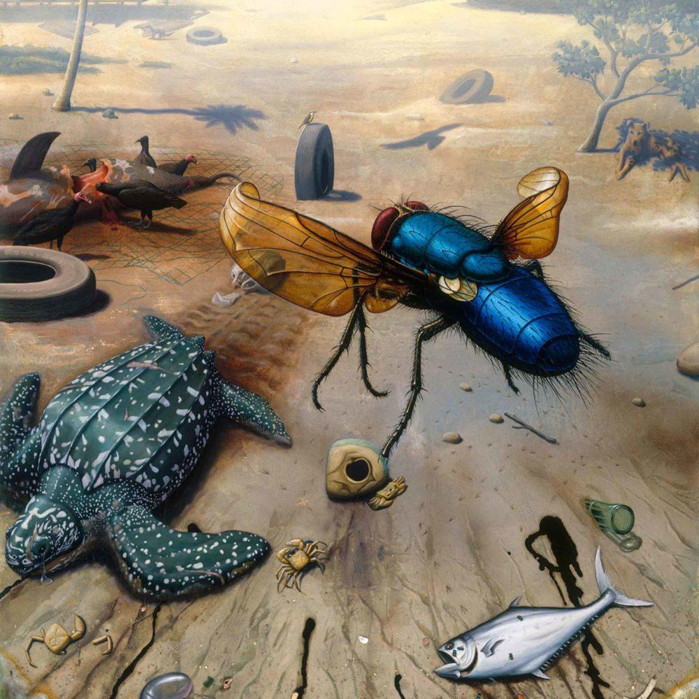 Alexis-Rockman-GES-00958-The-beach-Demerara-River-Delta-1994-96