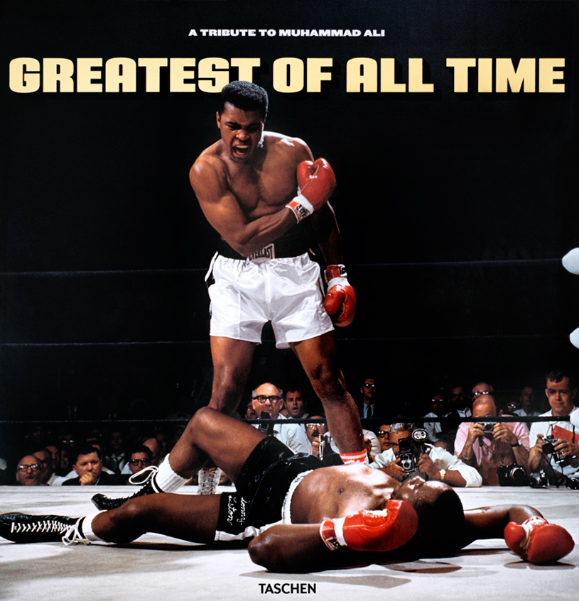 GOATGreatest Of All time, A Tribute to Muhammad Ali © Courtesy of TASCHEN