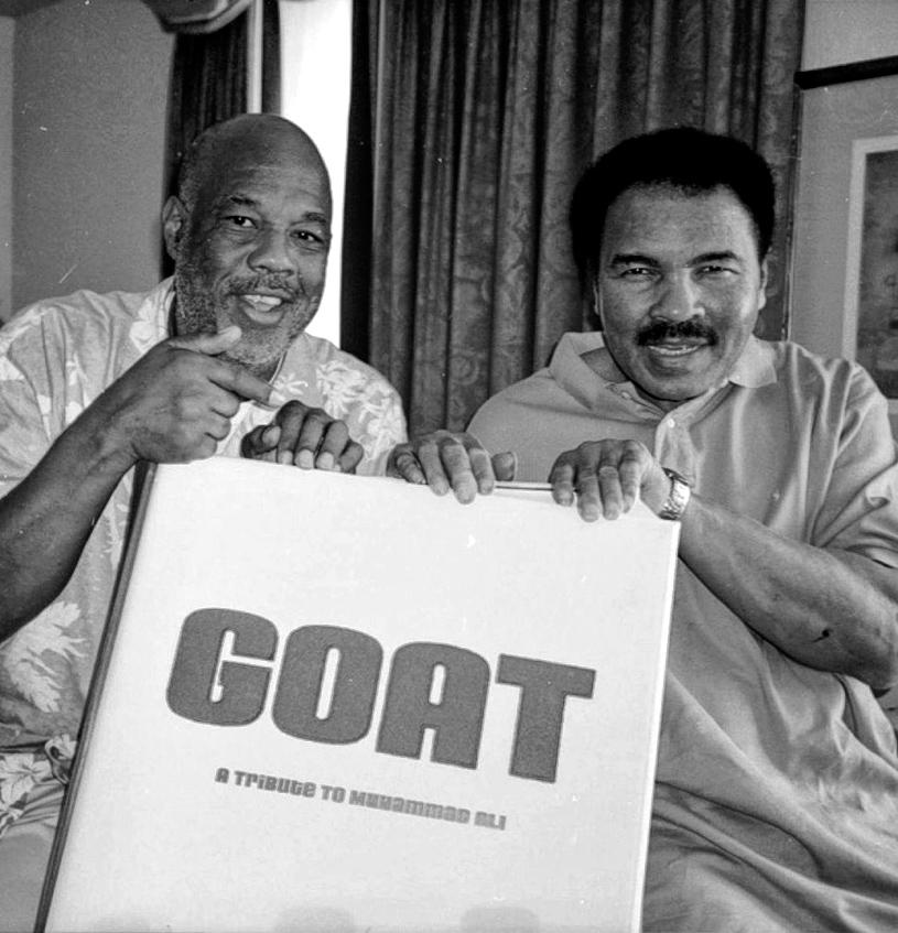 Howard L. Bingham and Muhammad Ali, 2003 © TASCHEN