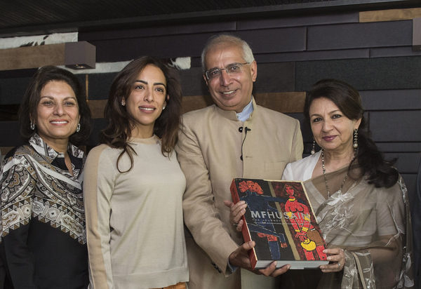 St Moritz Art Masters 2014 Book Vernissage MF Husain The journey of a legend15212617308_1c334d9342_b