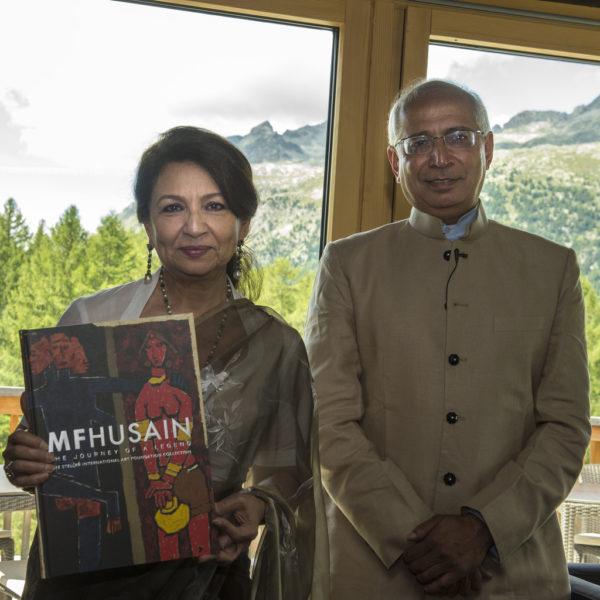 St Moritz Art Masters 2014 Book Vernissage MF Husain The journey of a legend15398899902_0c67acd5f2_b