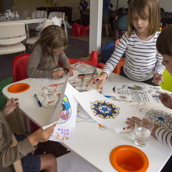 St Moritz Art Masters 2014 Kids day - St.Moritz Art Masters 2014